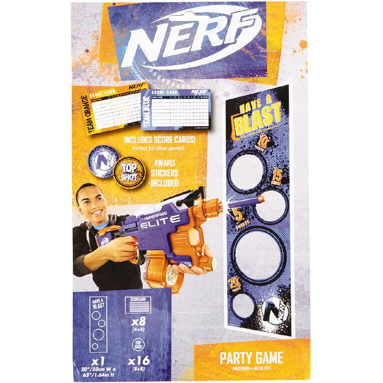 NERF Party Game 8 Pack, , hi-res