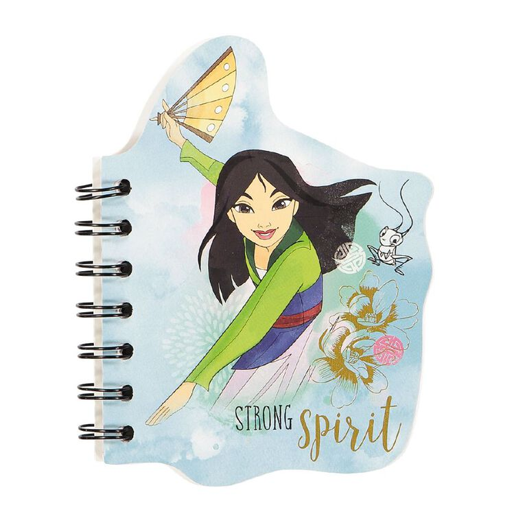 Disney Princess Notepad Blue Light A6, , hi-res