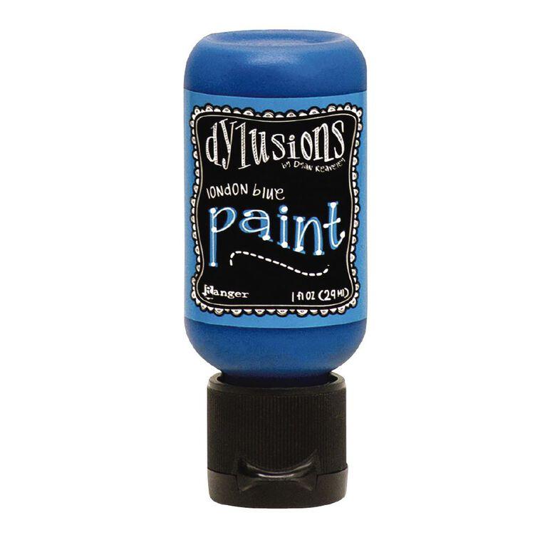 Ranger Dylusions Paint 1oz London Blue, , hi-res