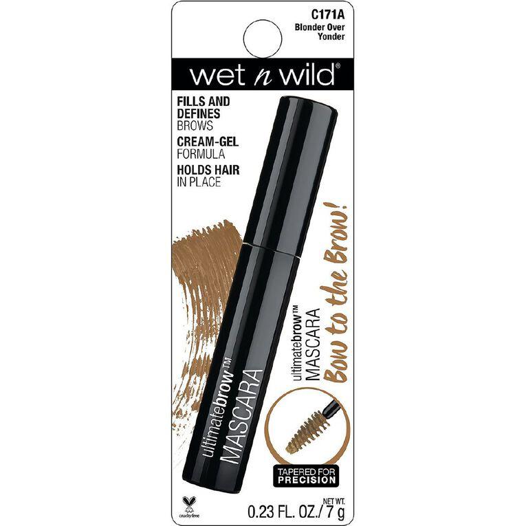 Wet n Wild Ultimate Brow Mascara Blonder Over Yonder, , hi-res