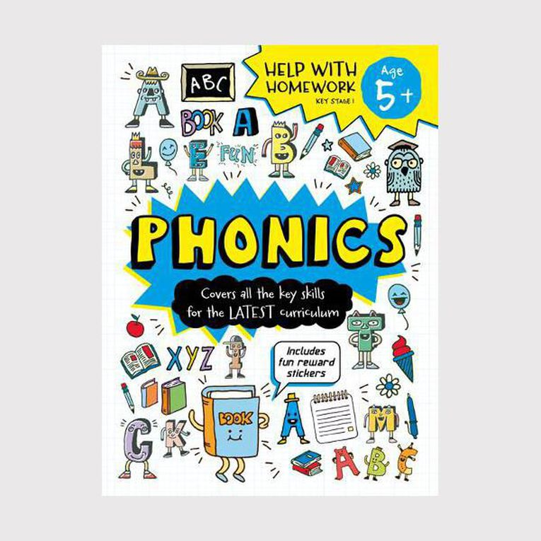 Help with Homework Expert 5+ Phonics, , hi-res