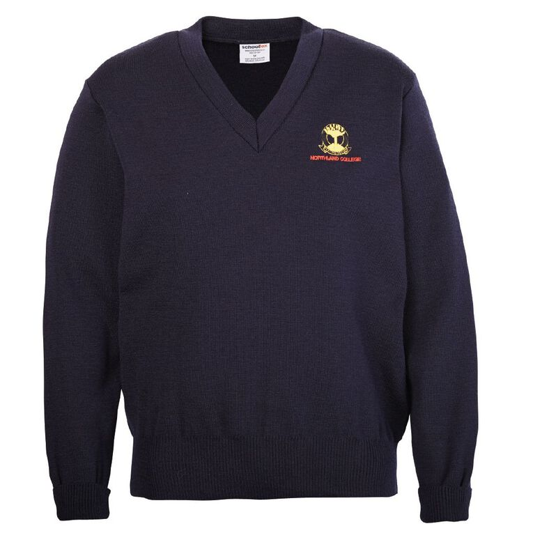 Schooltex Northland College Jersey with Embroidery, Midnight/Navy, hi-res