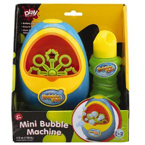Play Studio Mini Bubble Machine 4 OZ