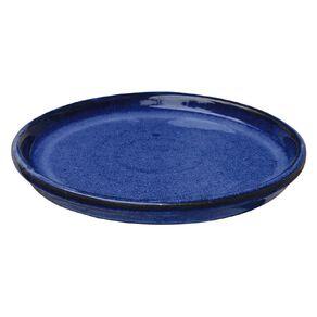 Kiwi Garden Round Saucer Blue 20cm