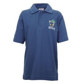 Schooltex Mercury Bay Area School Short Sleeve Polo with Embroidery