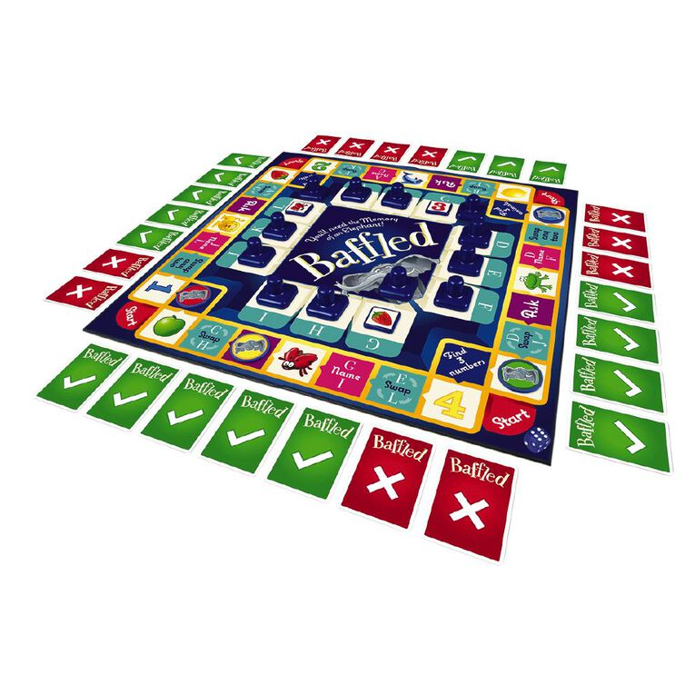 Baffled Board Game, , hi-res