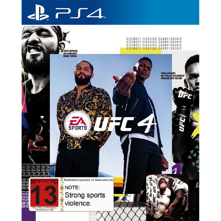 PS4 UFC 4, , hi-res