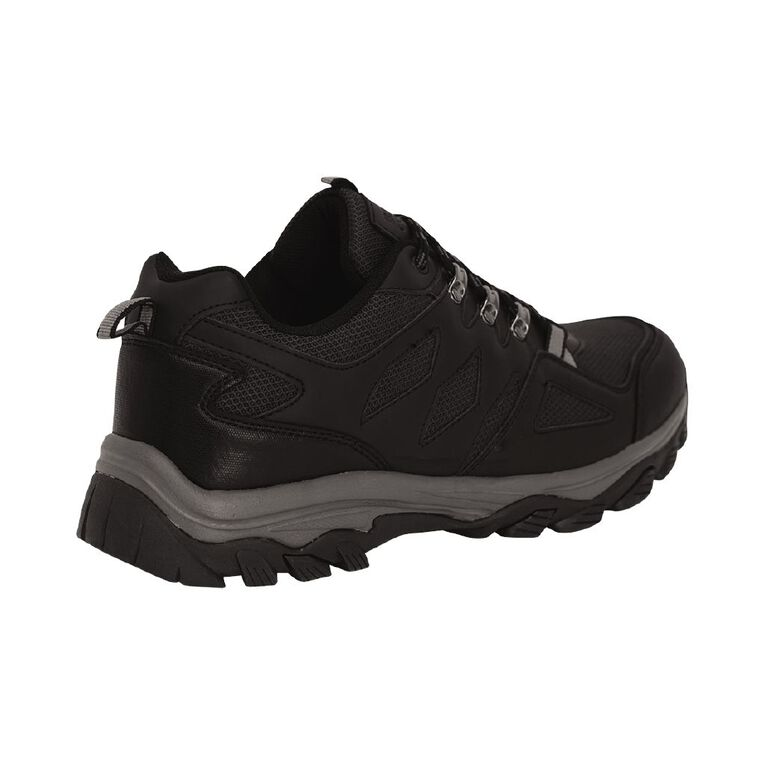 Back Country Elroy Hiking Shoes, Black, hi-res