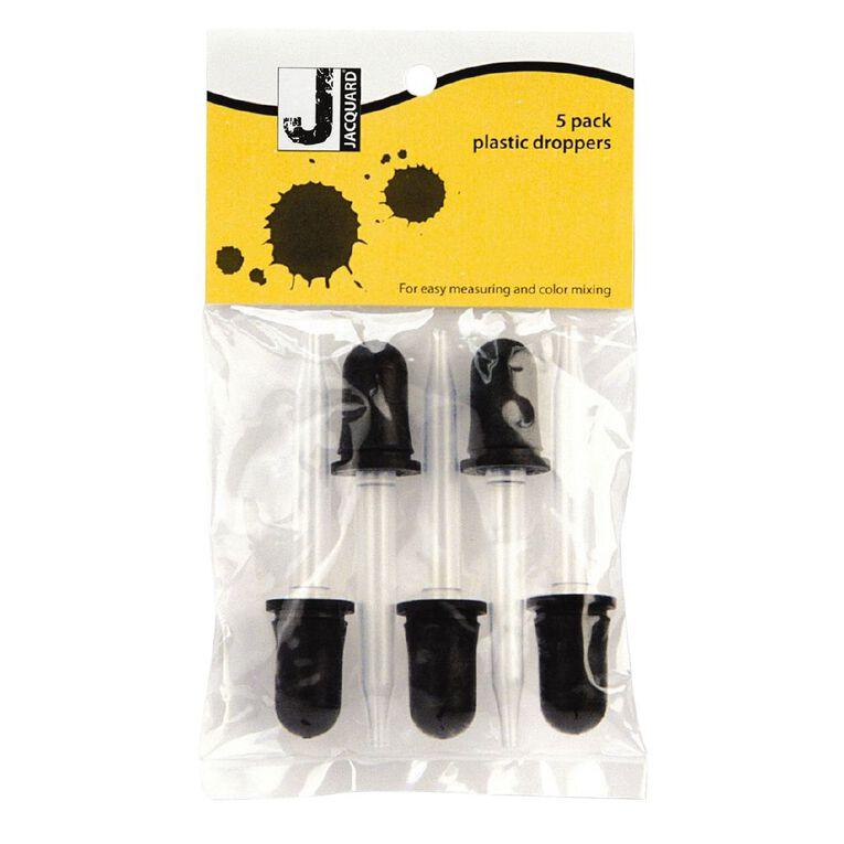 Jacquard Plastic Dropper 5 Pack, , hi-res