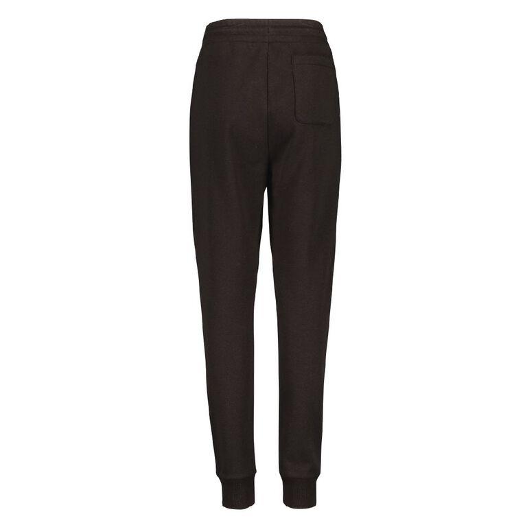 Young Original Zip Pocket Trackpants, Black, hi-res