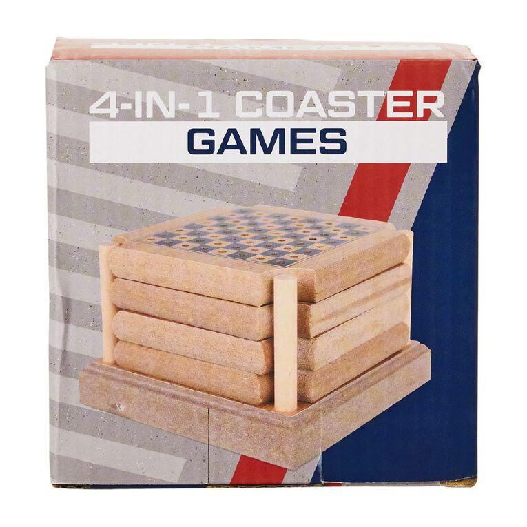 4-in-1 Coaster Games, , hi-res