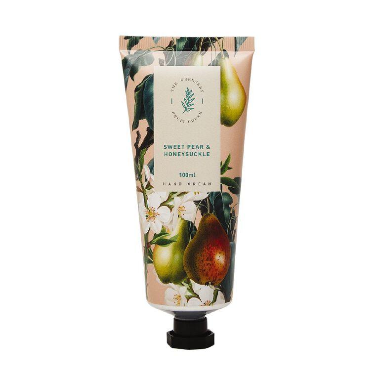 Winter Fruit Sweet Pear And Honey Suckle Hand Cream 100ml, , hi-res