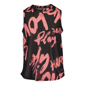 Active Intent Girls' Muscle Tank Top