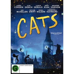 Cats (2019) DVD 1Disc