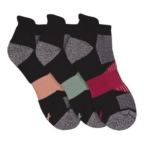 Active Intent Women's Low Cut Sport Socks 3 Pack