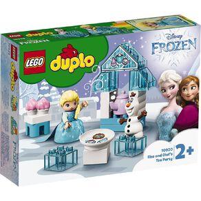 LEGO DUPLO Elsa and Olaf's Tea Party 10920