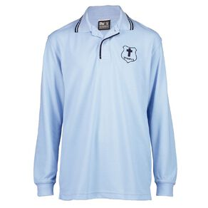 Schooltex St Mary's Hastings Long Sleeve Polo with Embroidery