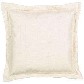 Living & Co Slub Cushion Taupe 38cm x 38cm