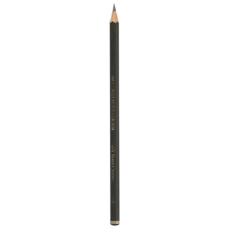 Faber-Castell Drawing Pencil 9000 3B, , hi-res image number null