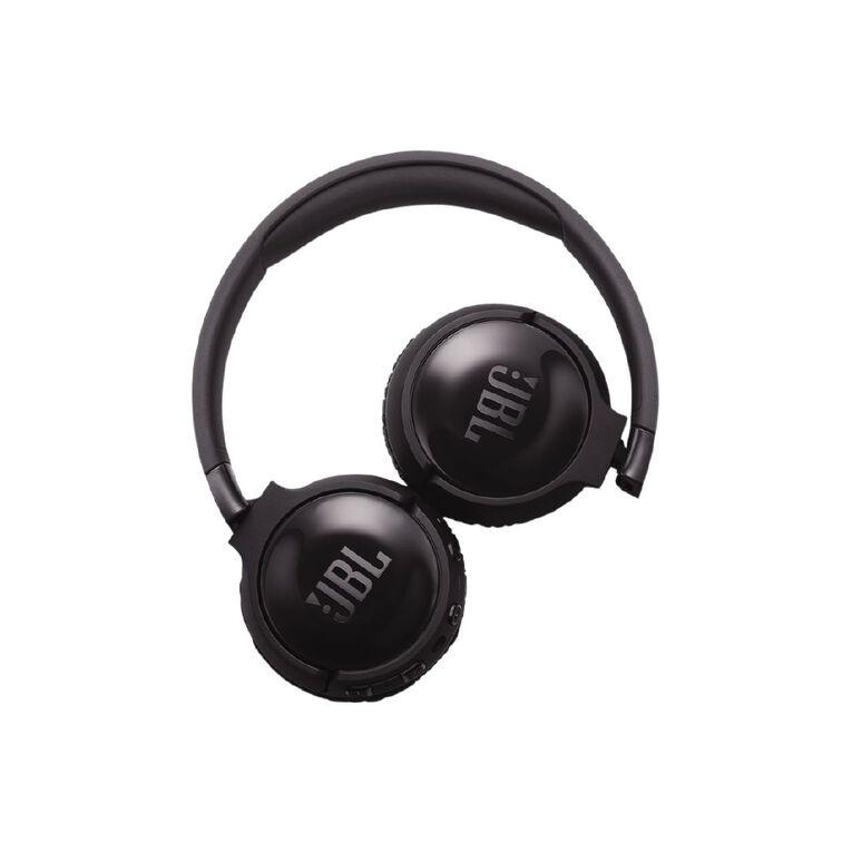 JBL T600BT On-Ear NC Wireless Headphones Black, , hi-res