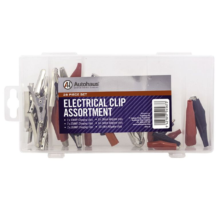 Autohaus Electrical Clips 28 Pack, , hi-res