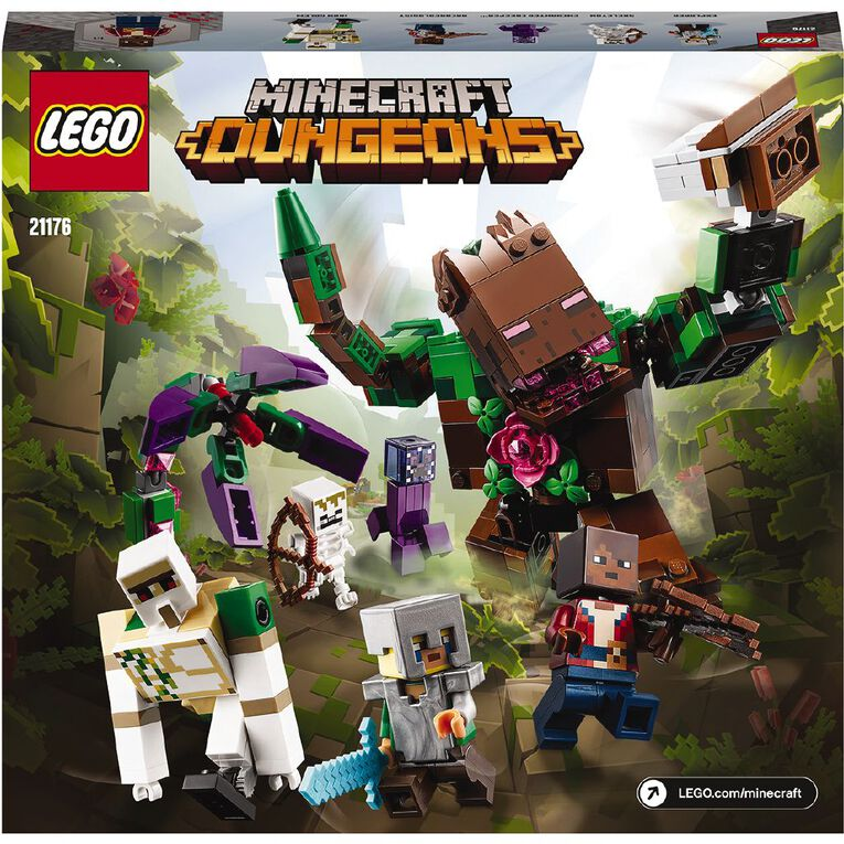 LEGO Minecraft The Jungle Abomination 21176, , hi-res