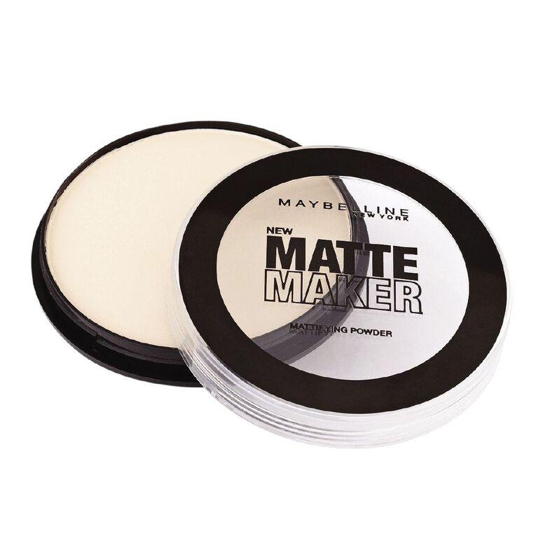 Maybelline Matte Maker Powder Classic Ivory, , hi-res