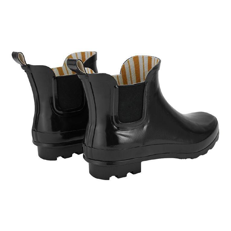 H&H Stormi Gumboots, Black, hi-res