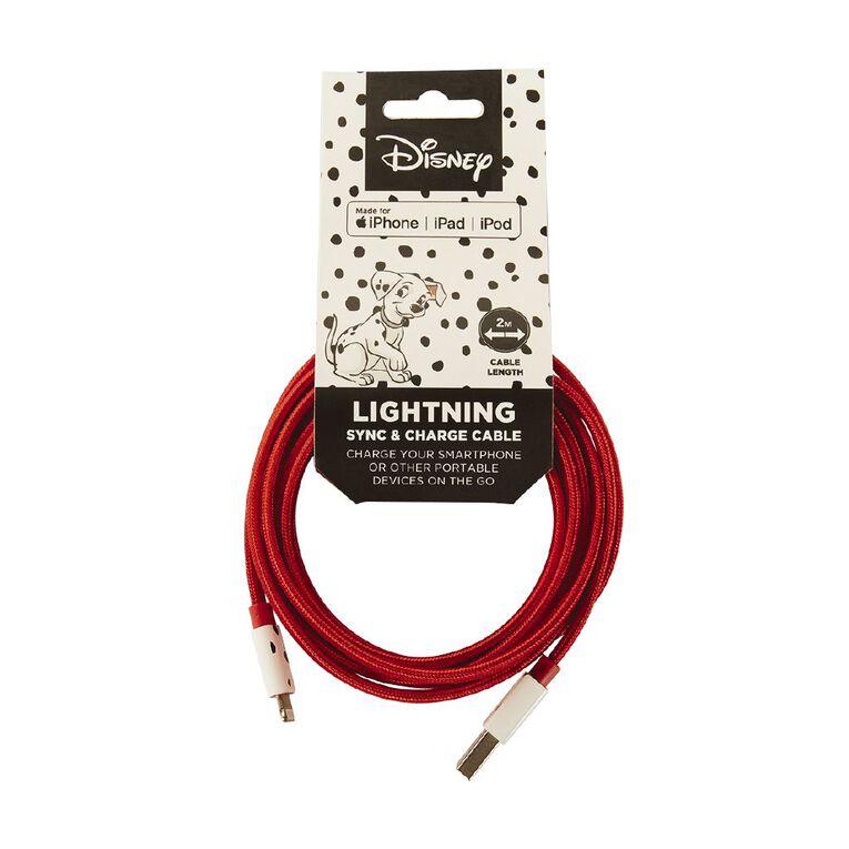 101 Dalmatians Flat Lightning Cable 2m, , hi-res