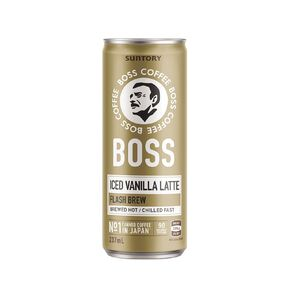BOSS Coffee Iced Vanilla Latte 237ml