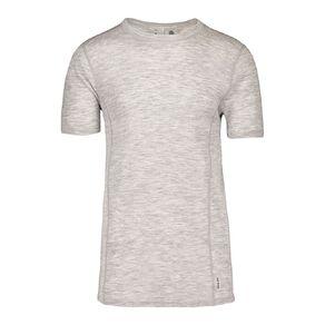 H&H Men's 100% Merino Wool Short Sleeve Thermal Top