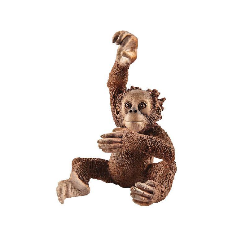 Schleich Young Orangutan, , hi-res