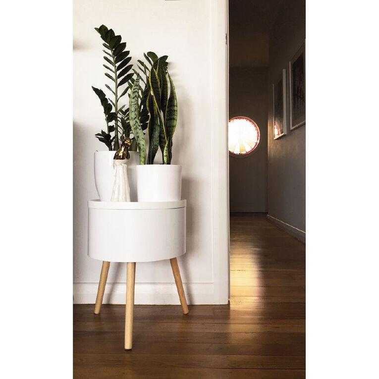 Living & Co Alyssa Side Table White, , hi-res