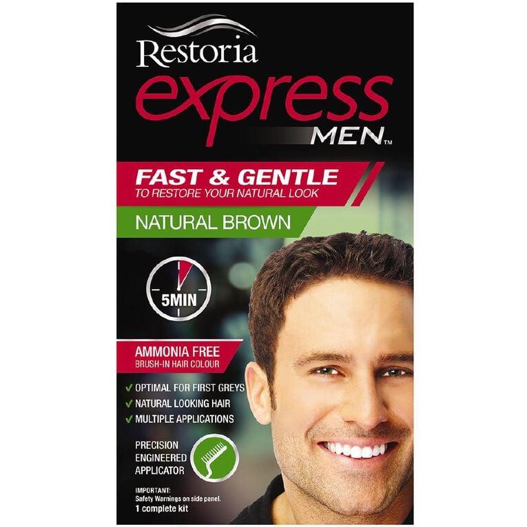 Restoria Express Men Natural Brown, , hi-res
