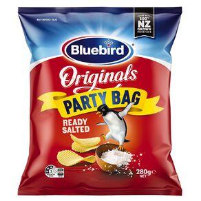 Bluebird Original Ready Salted Party Bag 280g