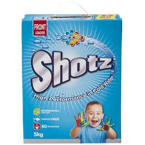 Shotz Laundry Powder Front Loader 5kg