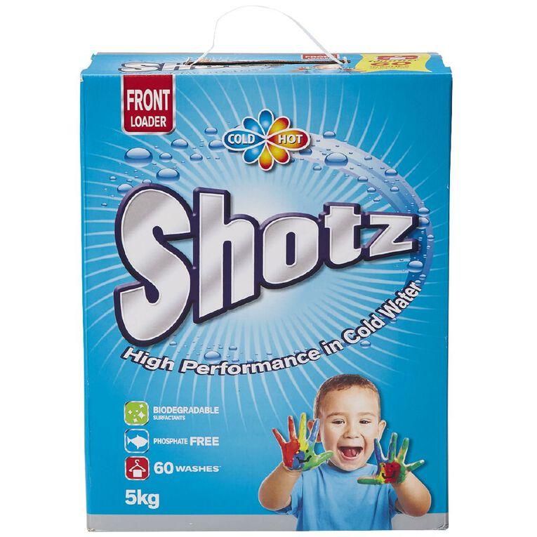 Shotz Laundry Powder Front Loader 5kg, , hi-res
