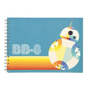 Star Wars Kids Sketchpad Multi-Coloured A4