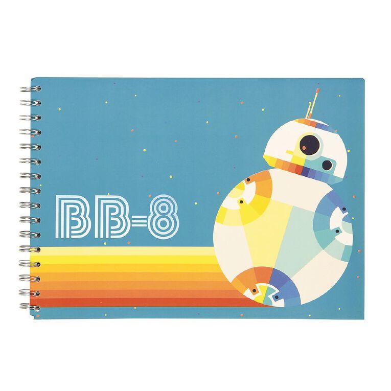 Star Wars Kids Sketchpad Multi-Coloured A4, , hi-res