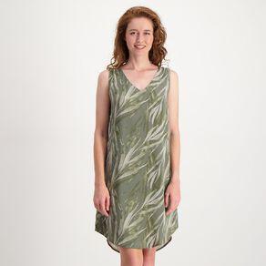 H&H Women's Sleeveless Printed Dress