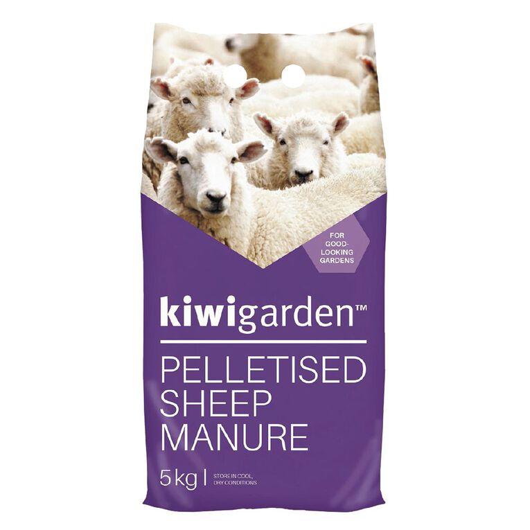 Kiwi Garden Sheep Pellets 5kg, , hi-res