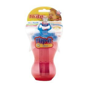Nuby Flip-It No-Spill Cup 12m+ Assorted 355ml