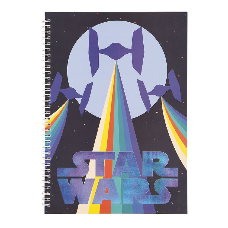 Star Wars Kids Notebook Multi-Coloured A4, , hi-res