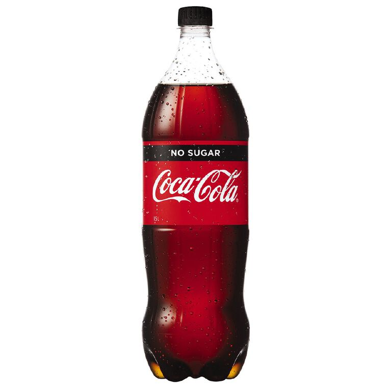 Coca Cola No Sugar 1.5L, , hi-res