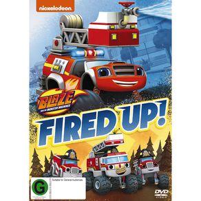 Blaze & The Monster Machines Fired Up DVD 1Disc