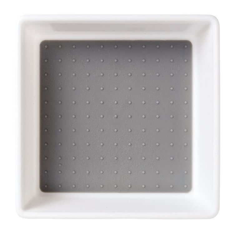 Living & Co Tray Medium White Medium, , hi-res