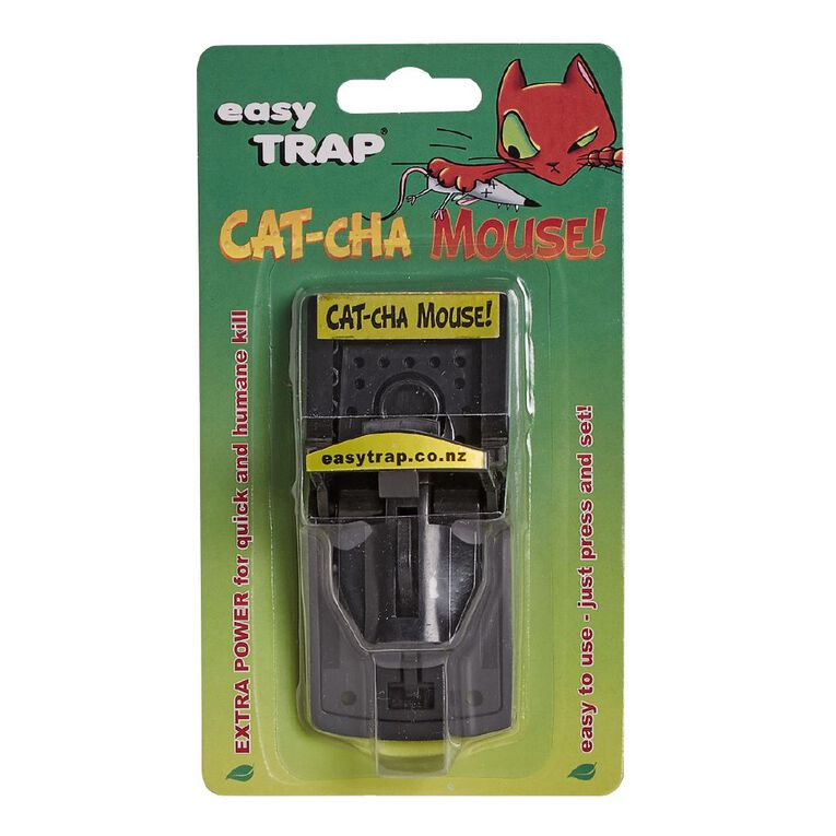 Easy Trap Catcha Plastic Mouse Trap 1 Pack, , hi-res