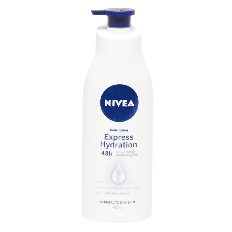 Nivea Express Hydration Moisturising Lotion 400ml, , hi-res