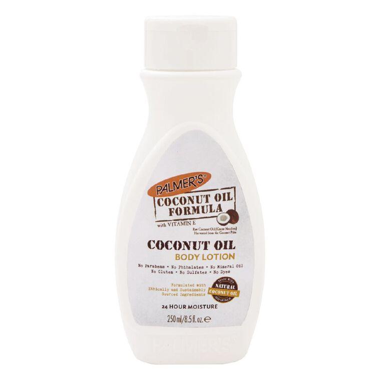 Palmer's Coconut Oil Lotion 250ml, , hi-res