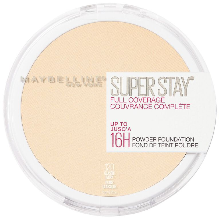 Maybelline Superstay 16hr Powder 010 Ivory, , hi-res